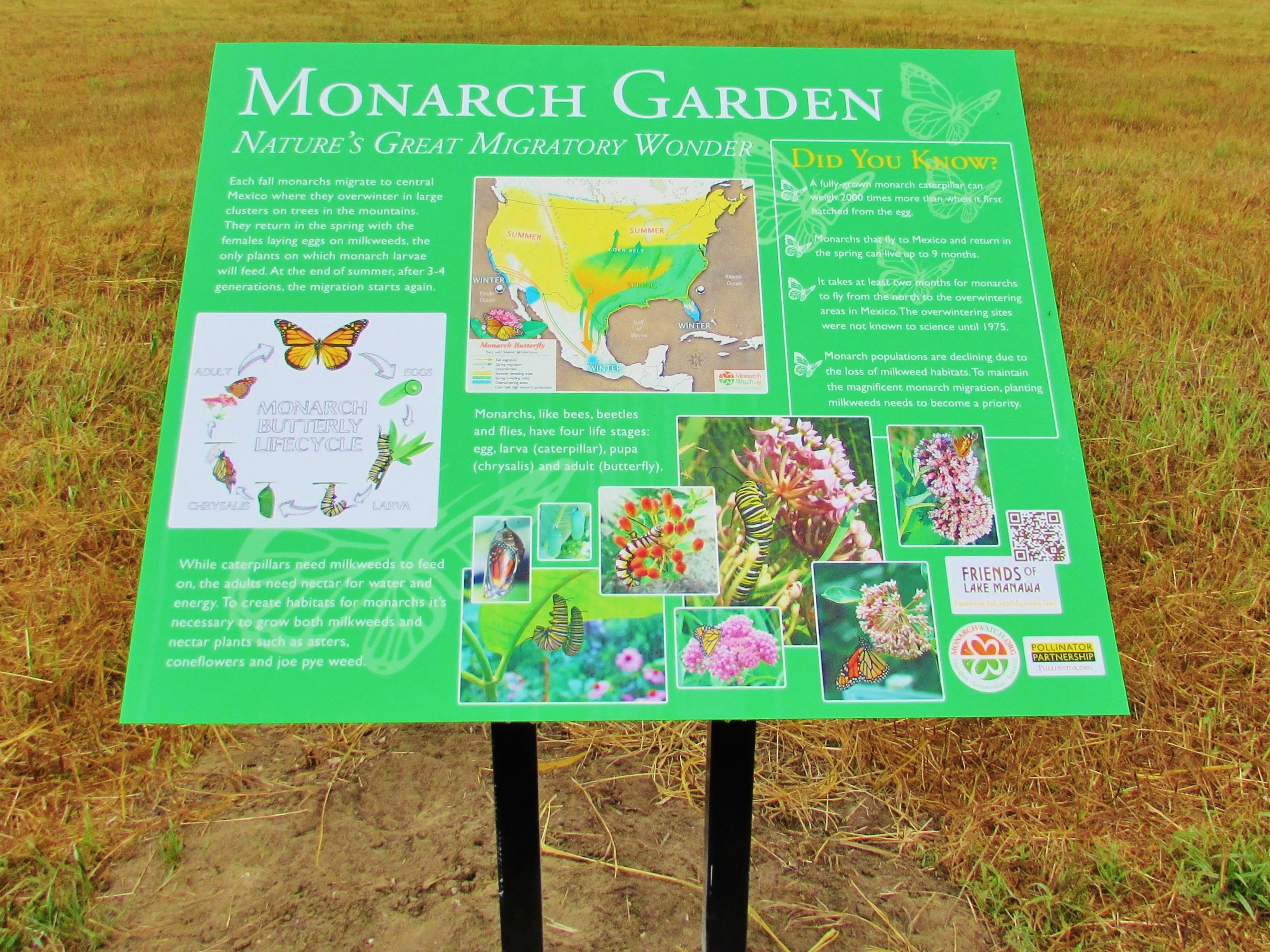 Monarch Sign